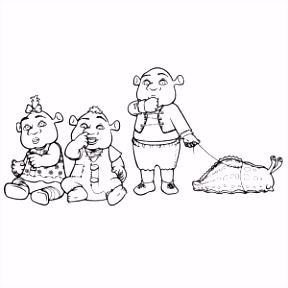 Kleurplaten Shrek Shrek Kleurplaat Printen → Leuk Voor Kids J3yt43uqn0 G5rkh4bkr5