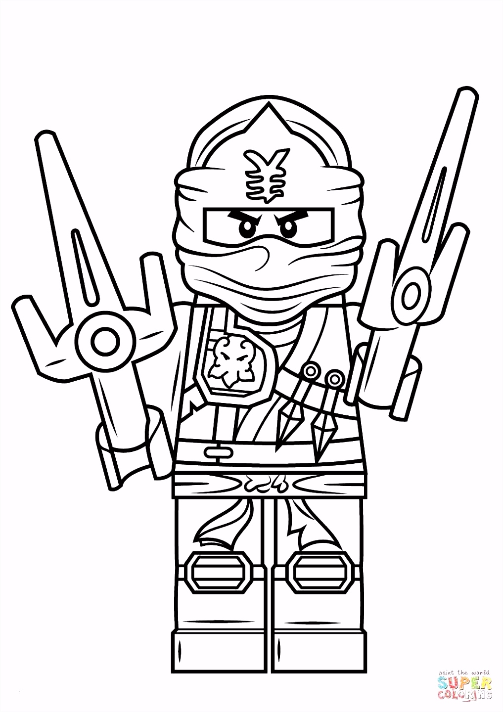 33 Beautiful Lego Ninjago A Imprimer Coloriage Kids