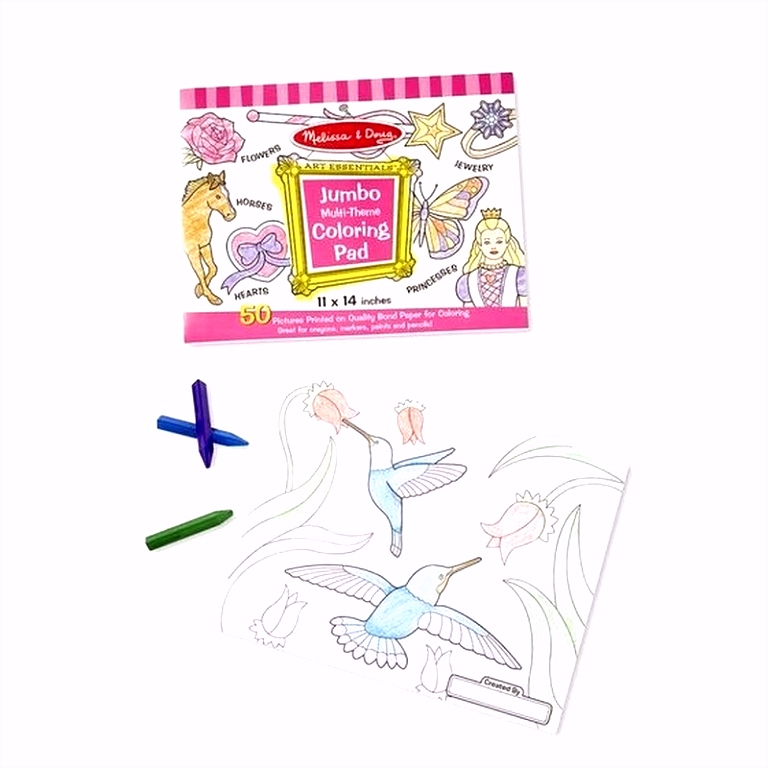 Jumbo kleurboek voor meisjes bij Speelgoed voordeel altijd de