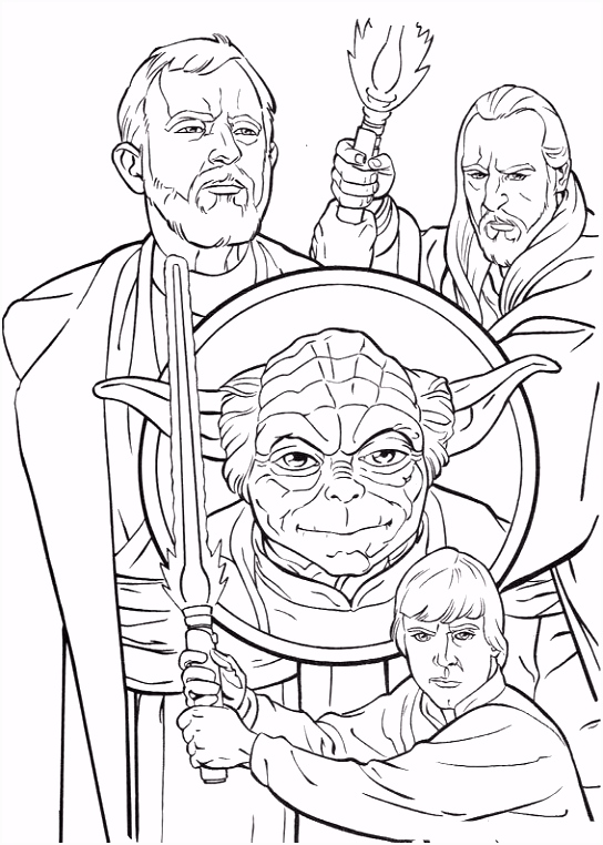 coloring page Star Wars Kleurplaten the Media Pinterest