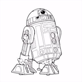 Star Wars Kleurplaat Kylo Ren ARCHIDEV