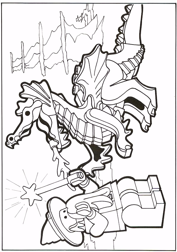 Lego kleurplaat LEGO coloring sheets Coloring Sheets