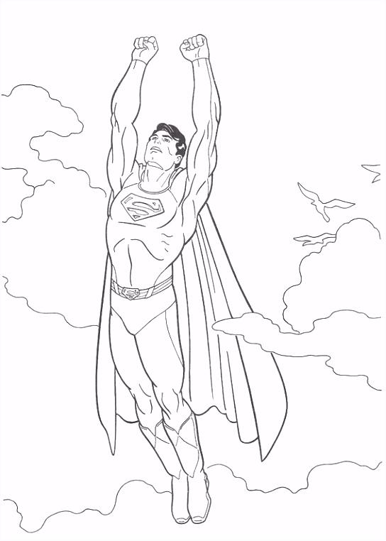 Superman Kleurplaten Hard Kleurplaten En Zo Kleurplaat Van Superman