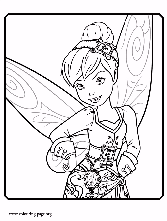 Another beautiful coloring page from Disney movie The Pirate Fairy
