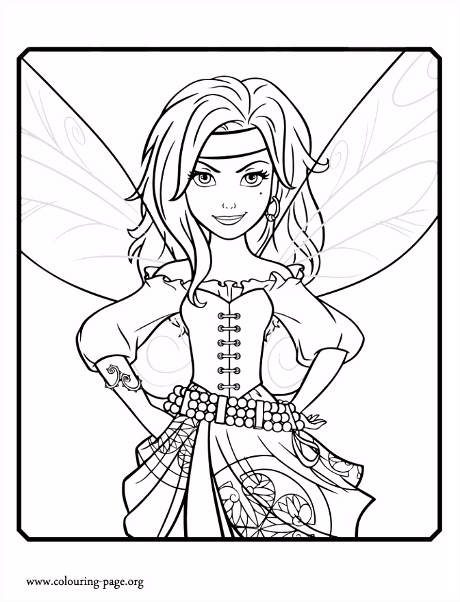 Meet Zarina She is a curious fairy and Tinker Bell s friend Have