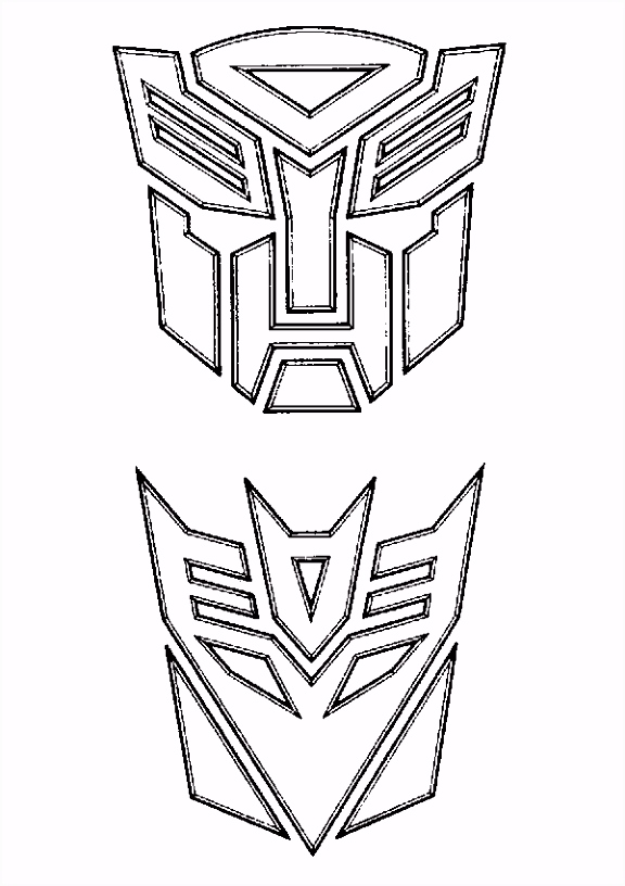 transformers coloring page Baby Shower Pinterest