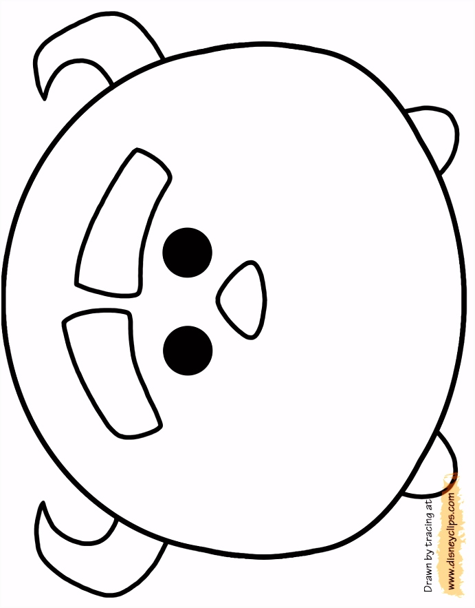 Free tsum tsum coloring pages Top Coloring Pages for Kids