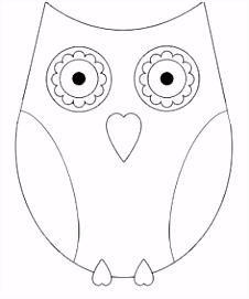 11 beste afbeeldingen van kleurplaten uil Owls Coloring books en