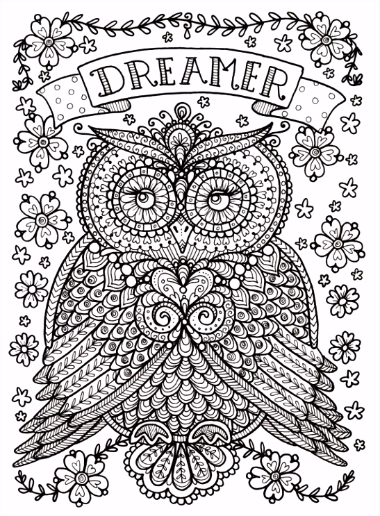 Owl Kleurplaten Nieuw Uil Mandala Kleurplaat Owl Coloring Pages Uil