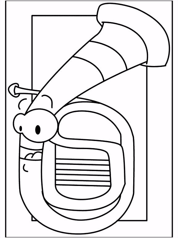 Tuba Drawing at GetDrawings