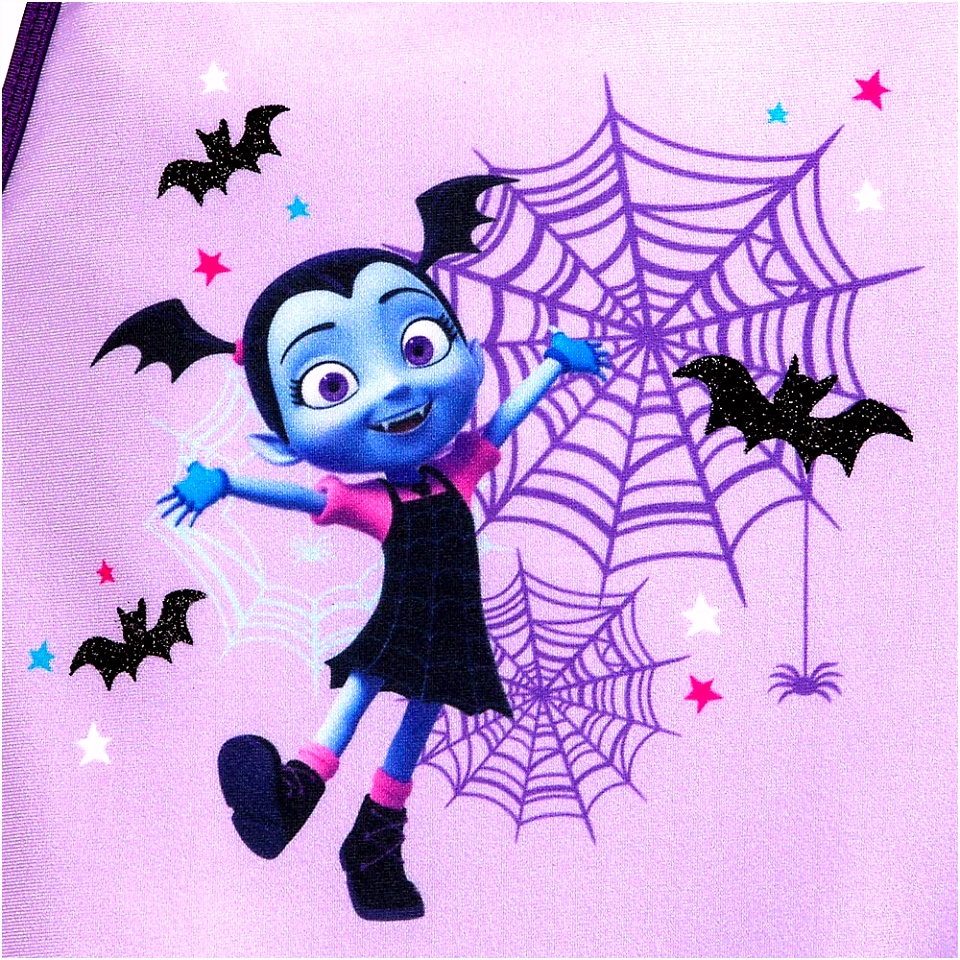 Disney Vampirina Leotard and Tutu Set For Girls Size 4 Purple