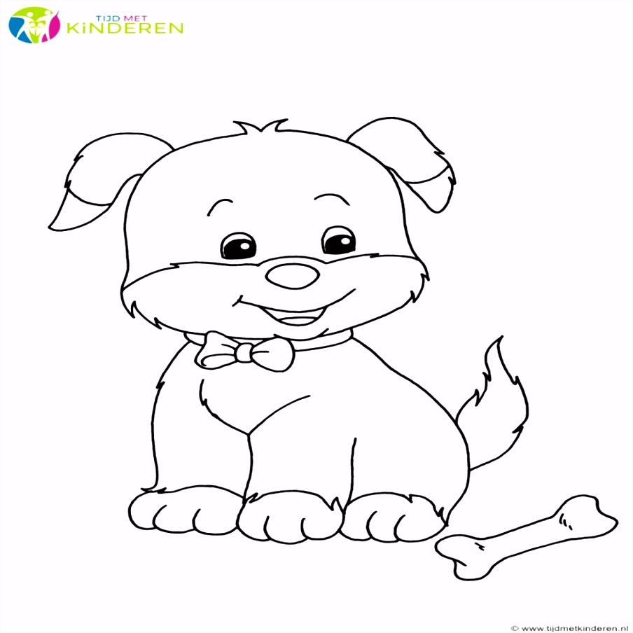 7 Kleurplaten Van Honden