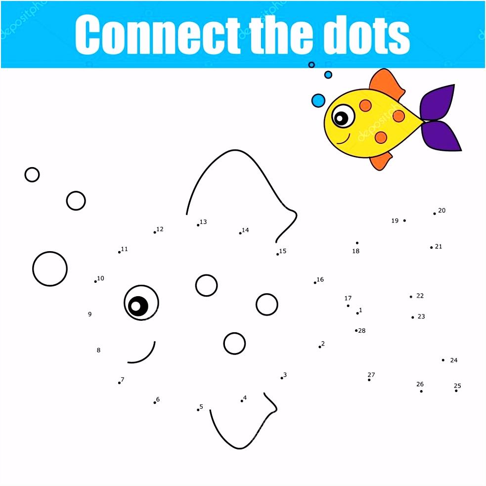 Verbind de puntjes door allen educatief kinderen spel kinderen