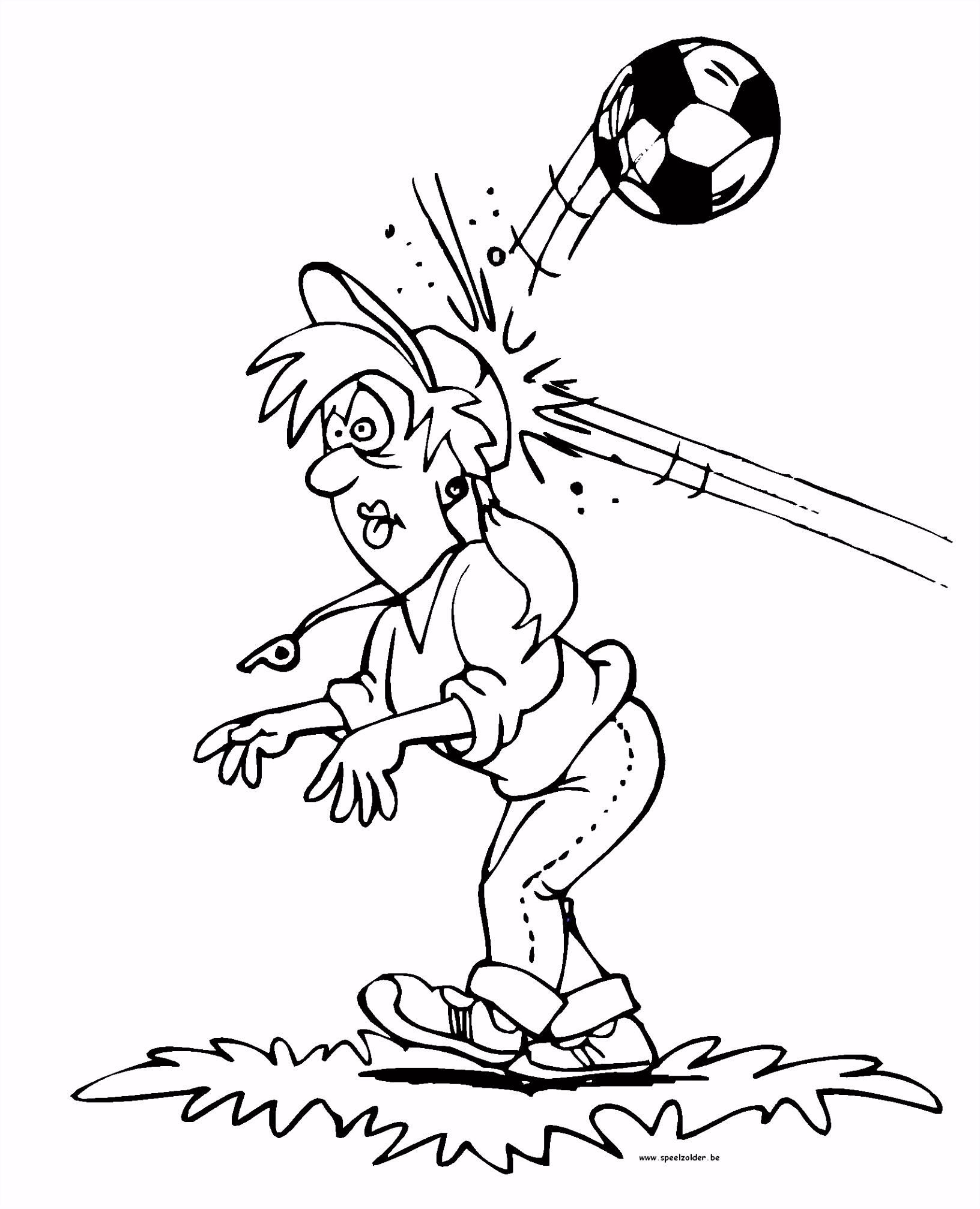 Kleurplaten Voetbal Kids N Fun I6rk67val1 N6nw2vjznu