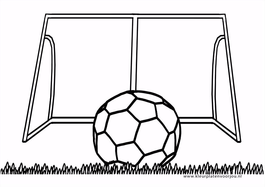 Voetbal Kleurplaten Kleurplaten voor jou