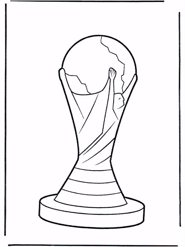 Wereldbeker Voetbal kleurplaten