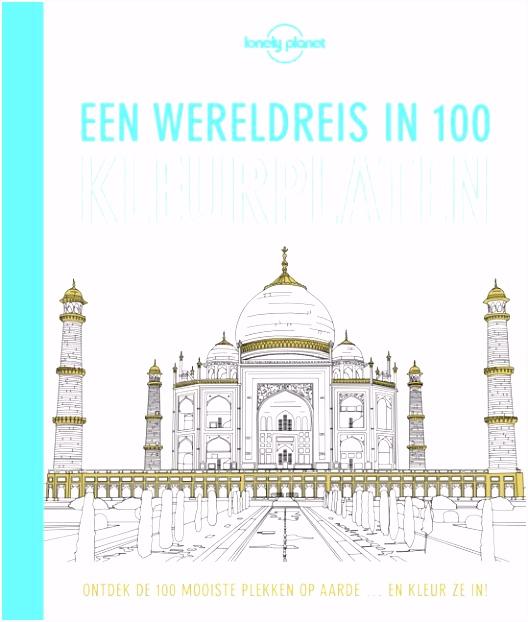 bol Een wereldreis in 100 kleurplaten