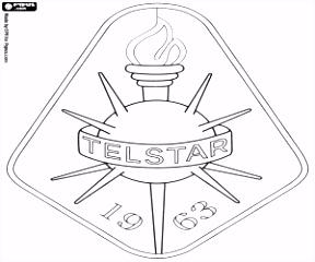 Kleurplaat Logo van SC Telstar kleurplaten