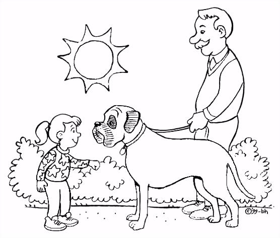 Kidsclub Kleurplaten kinderen Kleurplaten honden