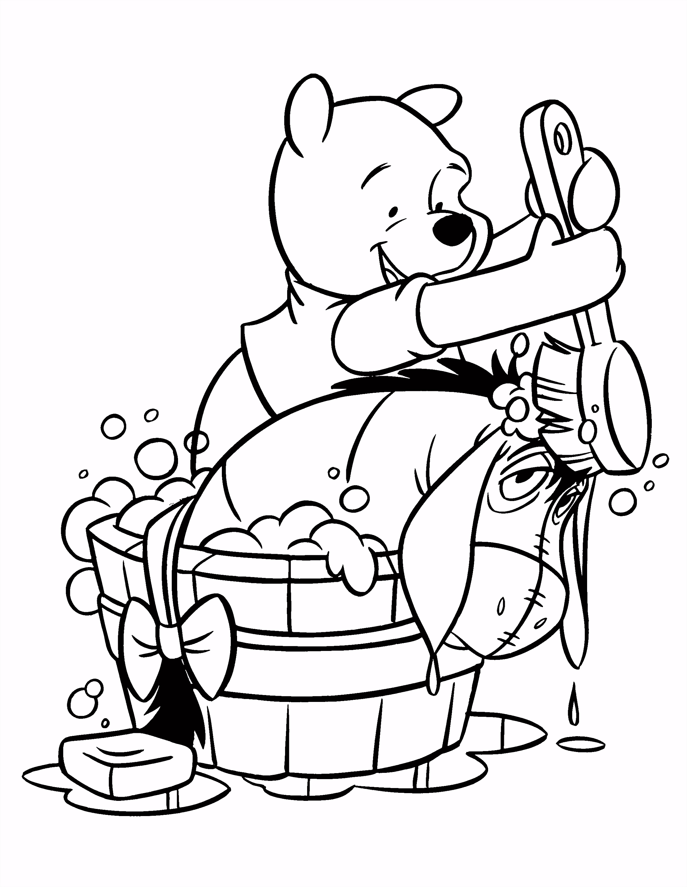 Eeyore free printable disney eeyore coloring pages prints and colors