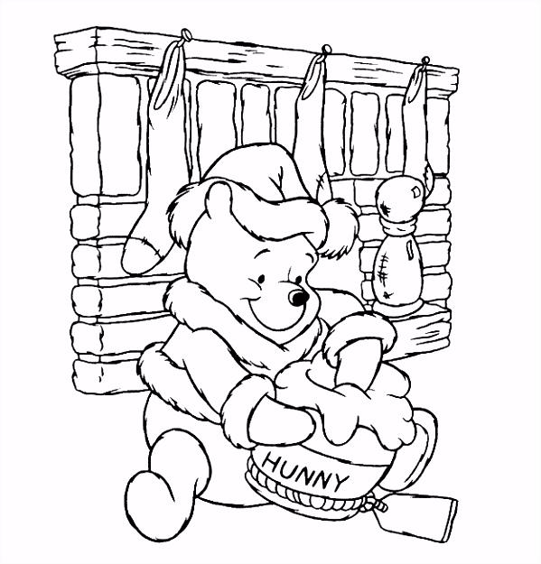 9 kleurplaten winnie de pooh en knorretje