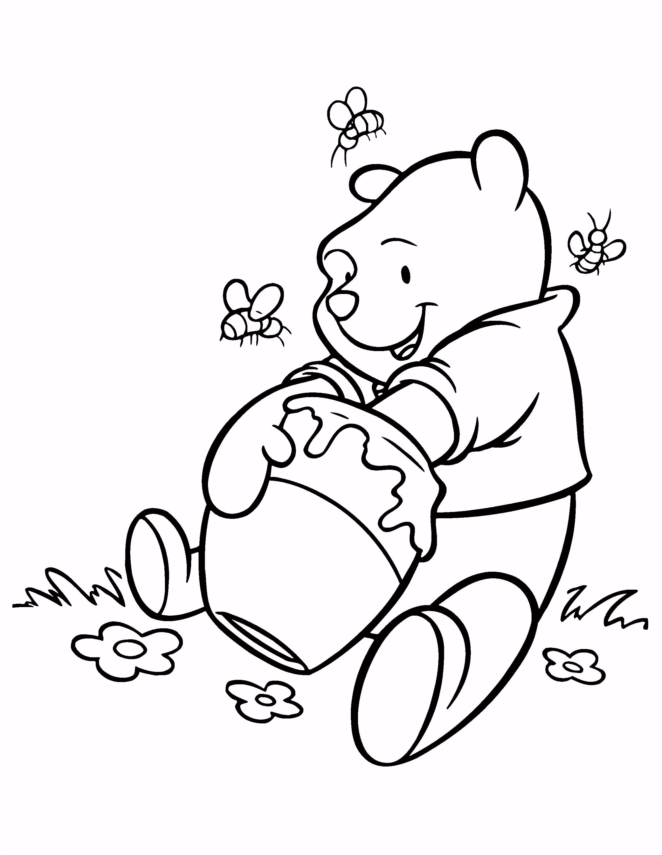 Winnie the Pooh Kleurplaten Elegant Ausmalbilder Winnie Pooh