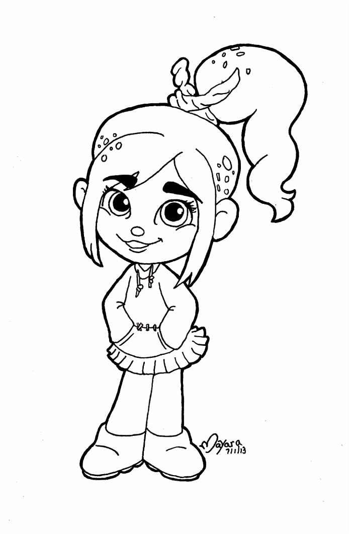 vanellope clipart Google Search Coloring Pages
