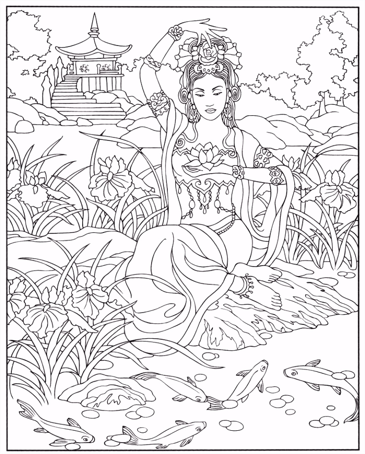 29 Beautiful Christmas Angel Coloring Pages Inspiration