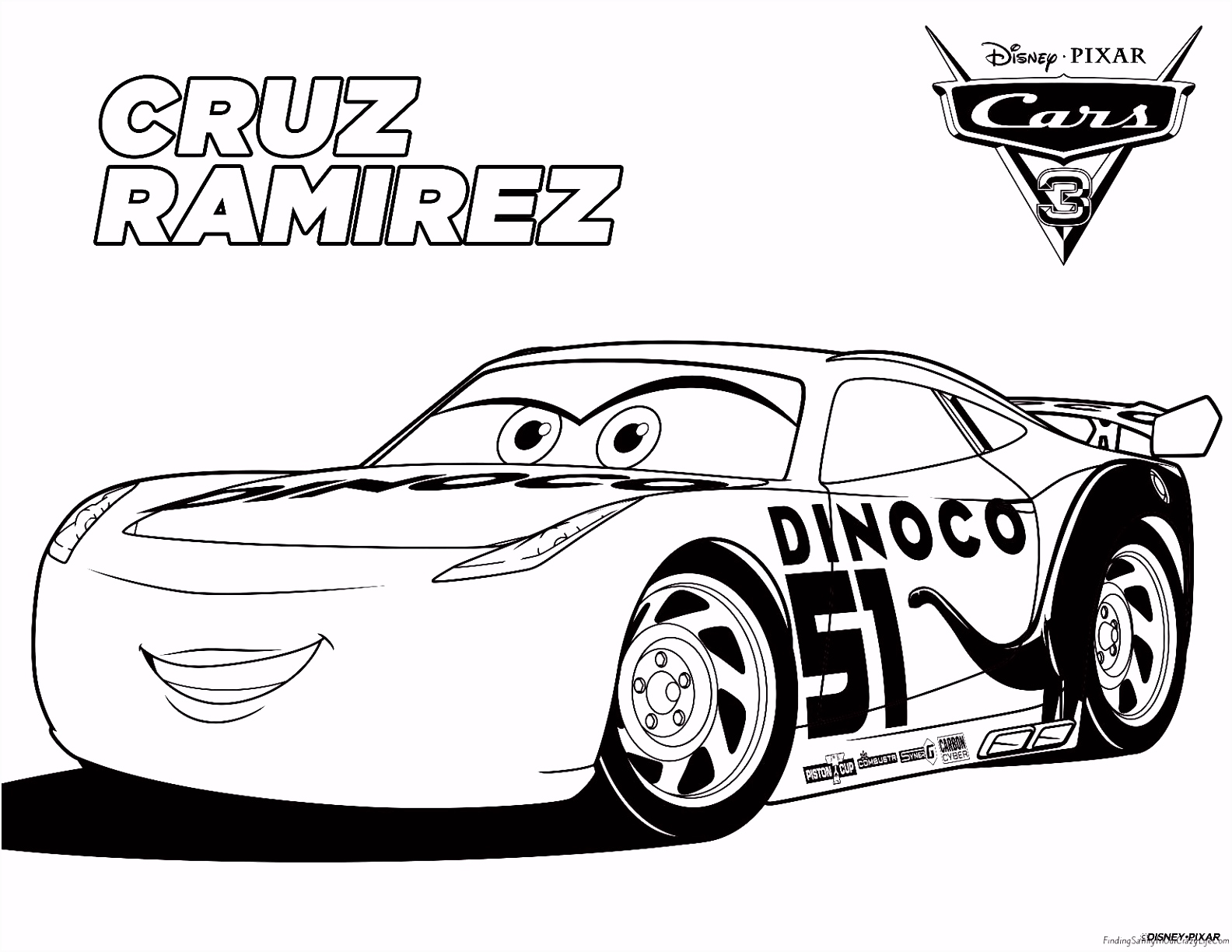Race Car Coloring Pages Free New Picture Car To Color With Unique