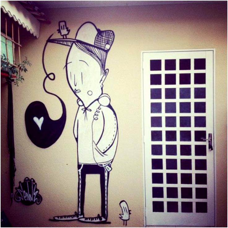 ALEX SENNA street art • fototerra