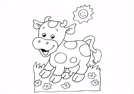 Koe Kleurplaat Koeien Kleurplaat – noumanfo