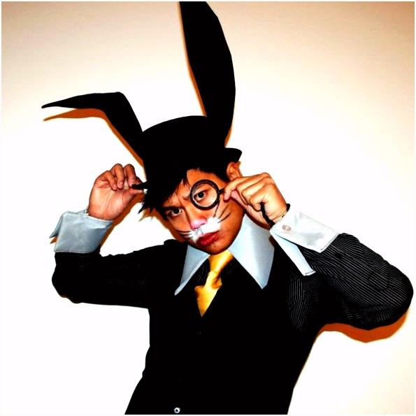 Maak een bunny oor hoge hoed cadagile