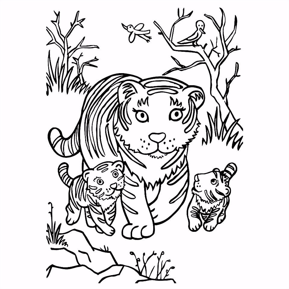 Leuk Voor KidsLeeuw Kleurplaten