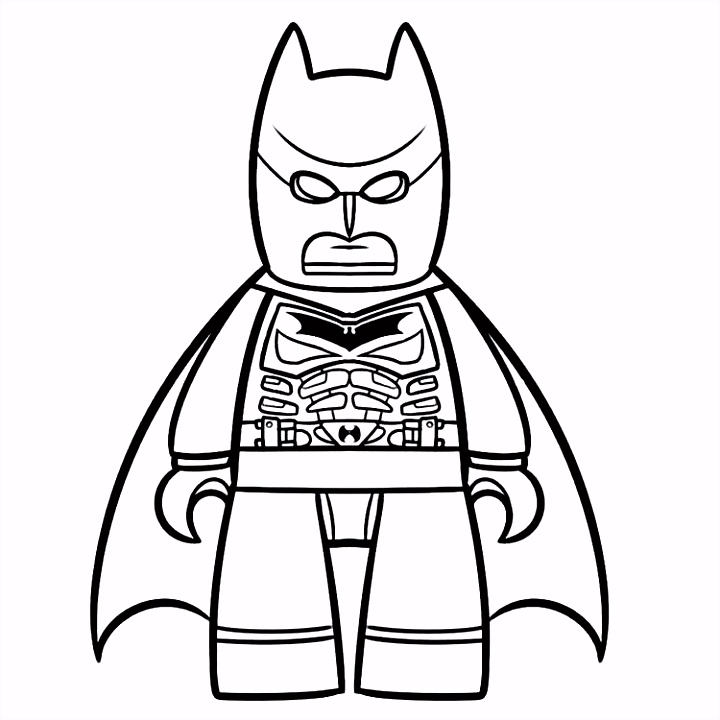 52 Awesome Lego Batman Coloring Book Image Inspiration Printable