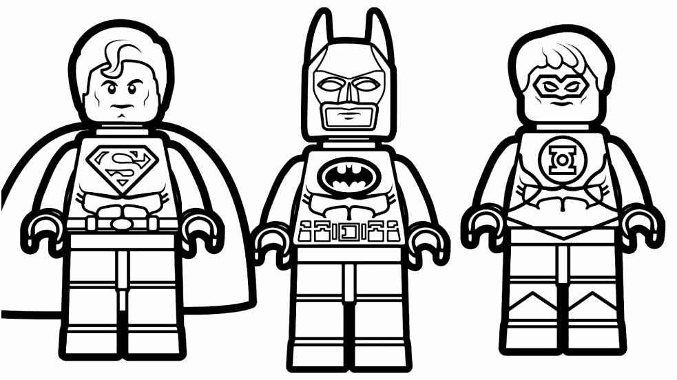 Awesome Lego Batman Coloring Pages