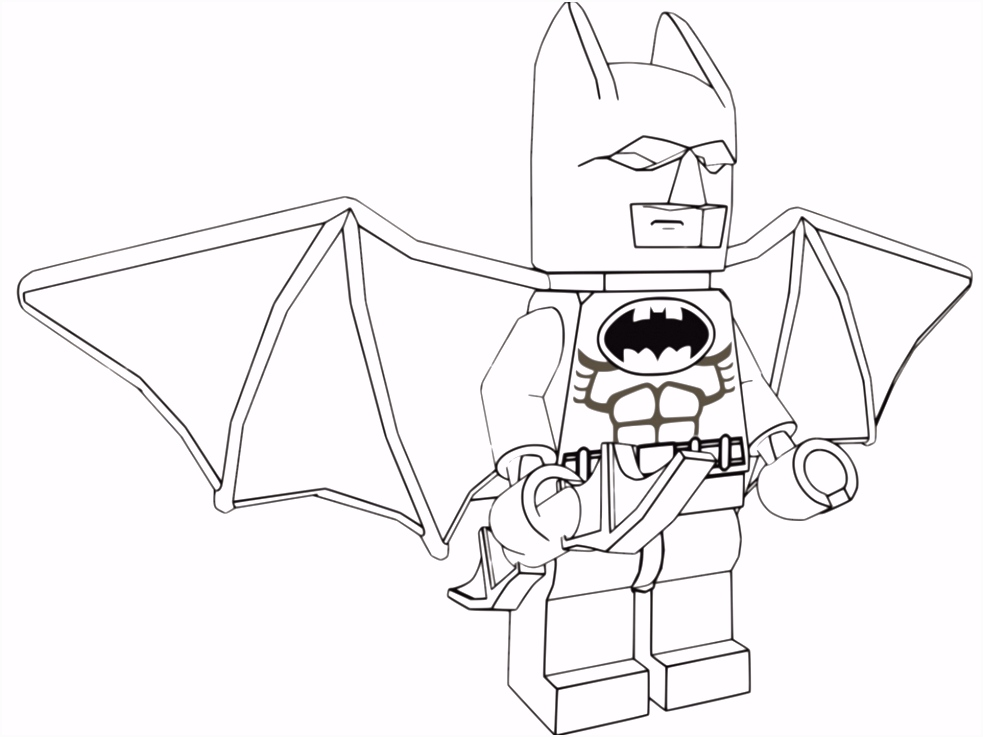 Emmet Lego Movie Coloring Pages Lovely Lego Batman Coloring Pages