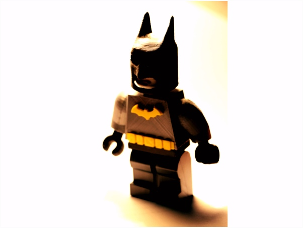 Lego Batman by smartly21 Thingiverse