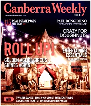 24 November 2016 by Canberra Weekly Magazine issuu