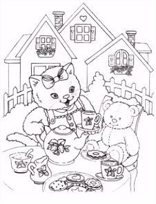 48 best Cats coloring book images on Pinterest
