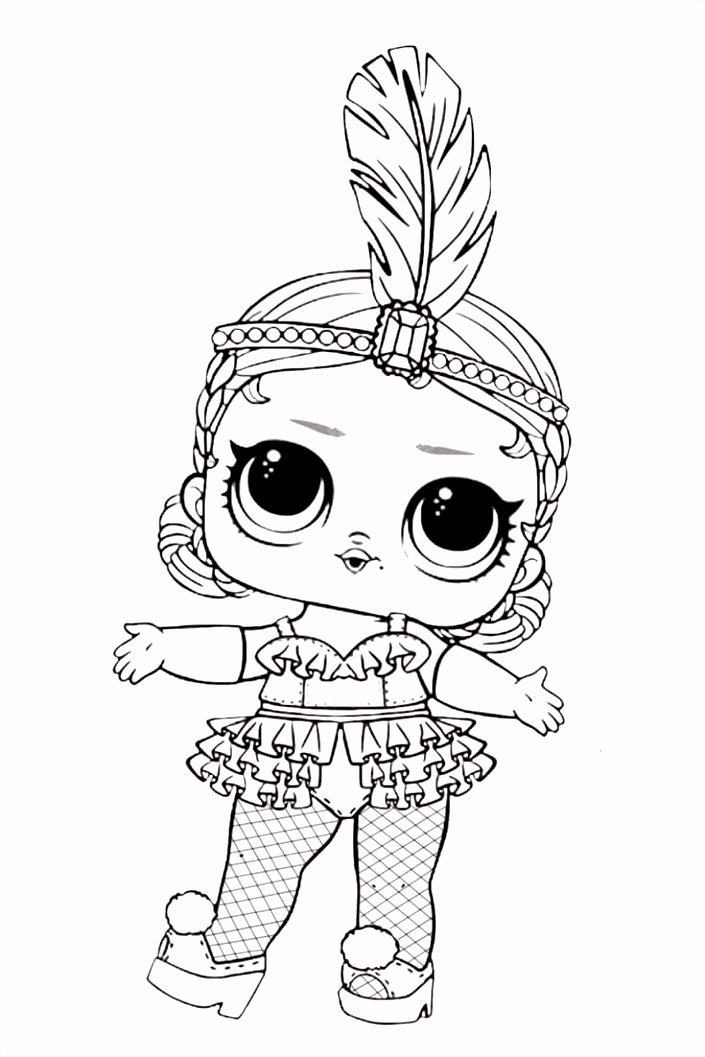 free doll coloring pages Doe het zelf en knutselen