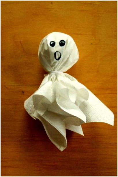 Afbeeldingsresultaat voor spookje knutselen Halloween