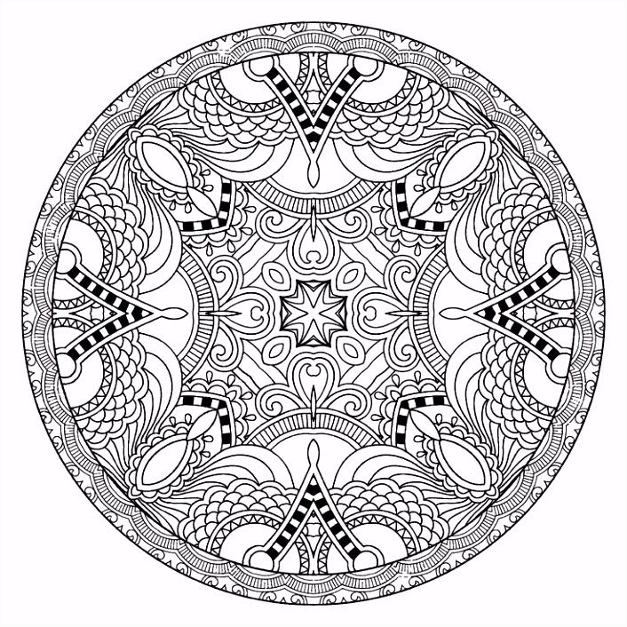 Mandalas Coloring Pages Elegant 97 Best Mandala Coloring Pages