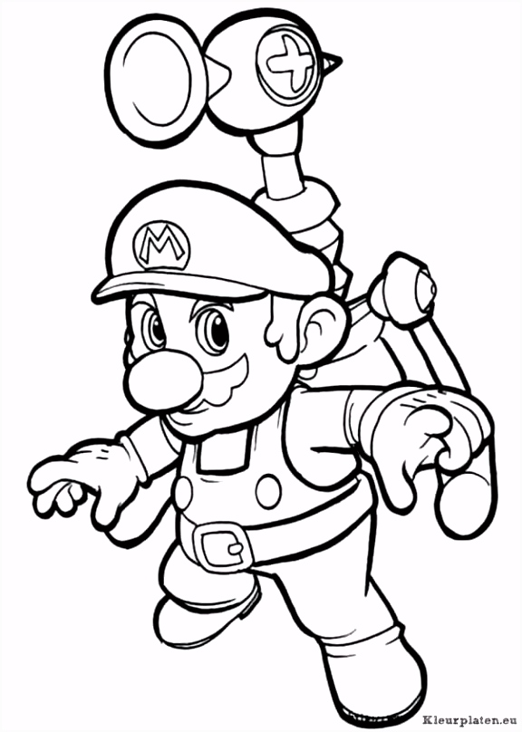 Mario Kleurplaten Kleurplaten Super Mario Kart – noumanfo