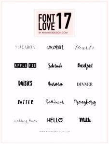 41 best Fonts images on Pinterest