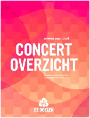 Concertoverzicht 2017 2018 by de Doelen issuu