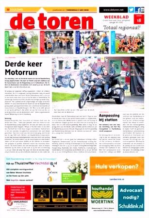 De Toren Week 18 2018 by Weekblad De Toren issuu
