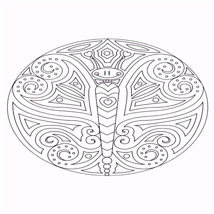 Moeilijke Kleurplaten Printen Fris Kleurplaat Mandala En Print Voeg