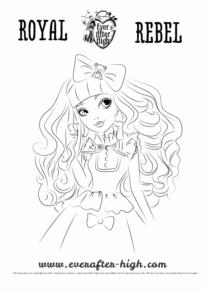 Blon Lockes coloring page For Alyssa Pinterest