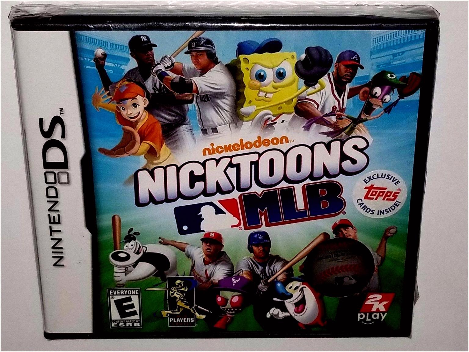 Nicktoons MLB Nintendo DS 2011