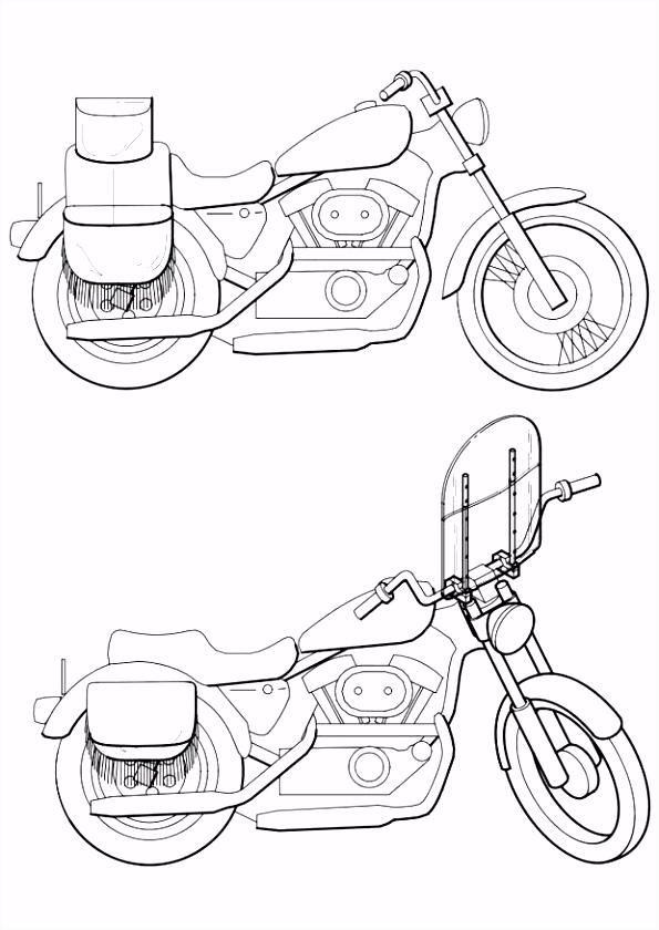 Motorfiets Kleurplaten En En Kleurplaten Motorfietsen – baisanfo